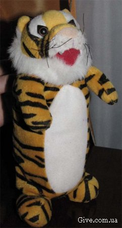 М'яка іграшка Тигрик