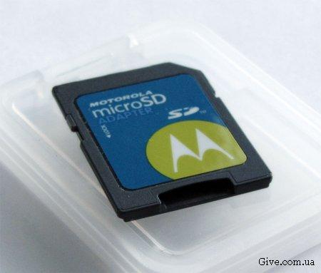 SD Adapter - переходник micro SD - SD