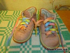 детские ботиночки 20 размера