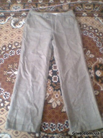 Шерстяные штаны