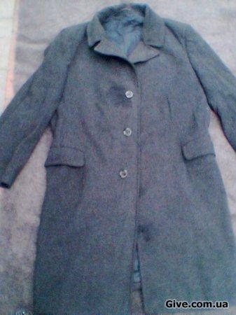 Пальто мужское на материал или для других целей