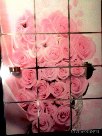 Самоклейка (букет роз)