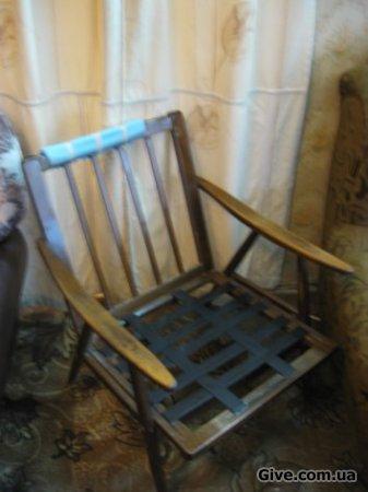 Каркас кресла Без подушек.