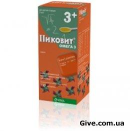 витамины Пиковит Омега 3 для детей