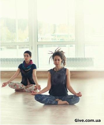Заняття з медитації