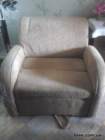 Стінка радянська,розкладне крісло